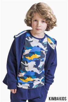 Kimba Kids by Kimberley Walsh Camo Print Long Sleeve Top