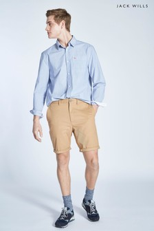 Jack Wills Stone Slim Chino Short