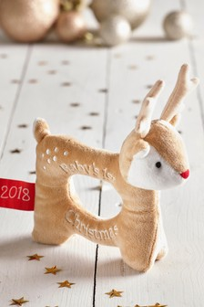 Baby's First Christmas Rattle