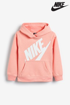 Nike Little Kids Pink Futura Hoody