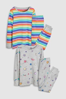 Star Snuggle Fit Pyjamas Two Pack (3-16yrs)