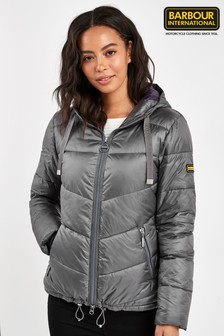 Barbour® International Silver Brace Quilt Jacket