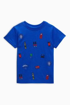 Embroidered London T-Shirt (3mths-6yrs)
