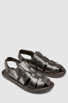 Leather Fisherman Sandal