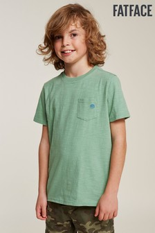 FatFace Einfarbiges T-Shirt