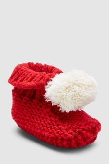 Knit Booties (Newborn)