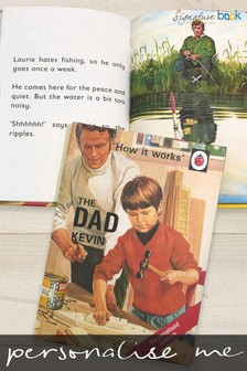 Personalised Ladybird The Dad Book by Signature Book Publishing