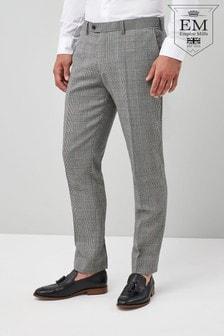 特色修身版型英国羊毛西装:裤装