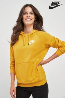 Sweat à capuche Nike Rally jaune
