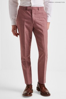 French Connection Slim Fit Mulberry Trousers