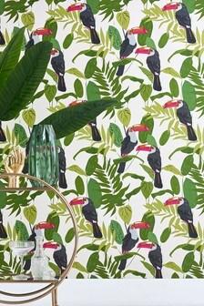 Paste The Wall Toucan Wallpaper