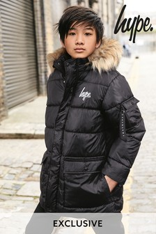 Hype. Black Explorer Jacket