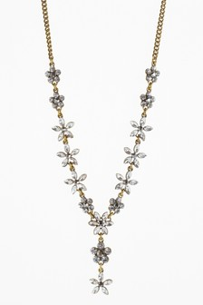 Floral Jewelled Necklace