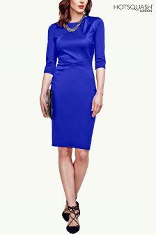HotSquash Royal Blue The Pimlico Ponte Dress