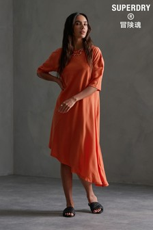 Superdry Edit Asymmetrical Dress