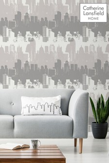 Cityscape Wallpaper by Catherine Lansfield