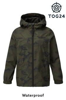 Tog 24 Green Craven Kids Packaway Waterproof Jacket