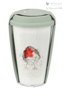 Wrendale Robin Travel Mug