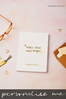 Personalised Make Magic Notebook by Martha Brook