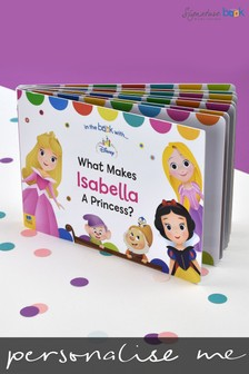 Personalised What Makes Me A Princess Disney™ Board Book by Signature Book Publishing