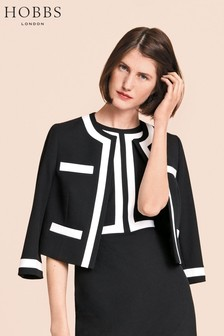 Hobbs Black Jackie Jacket