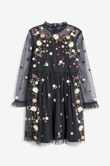f9aae7257d7 Embroidered Dress (3-16yrs)