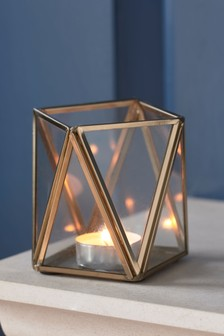 Faceted Tealight Holder