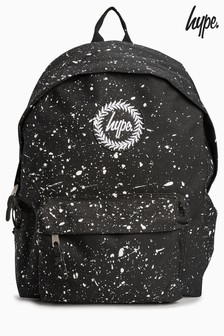 Hype. Black/White Speckle Backpack