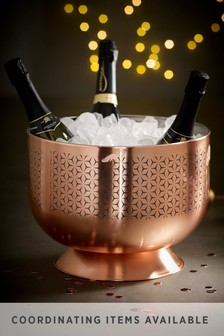 Rosa Metallic Champagne Trug