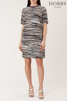 Hobbs Black Carla Dress