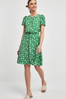 e10a6498c487 Drawstring Waist Dress