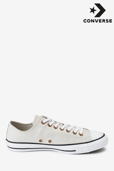 Converse Leather Chuck All Star Low Trainers