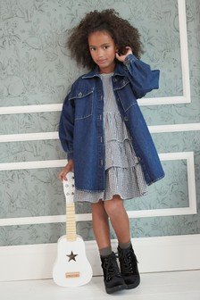 Denim Shacket (3-16yrs)