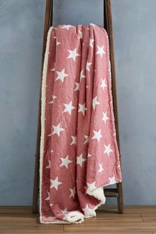 Woven Star Throw
