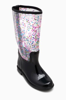 Star Sequin Wellies (Older)