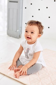 Unicorn Top And Leggings Set (0mths-2yrs)