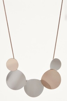 Clean Disc Necklace