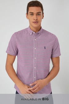 Gingham Short Sleeve Shirt