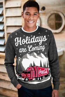 Coca Cola® Christmas Jumper