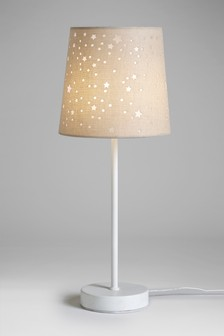 Cut Out Star Table Lamp