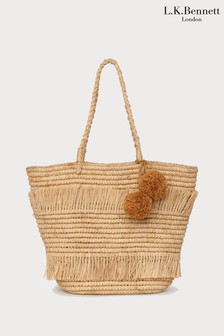 L.K.Bennett Natural Lariel Tote Bag