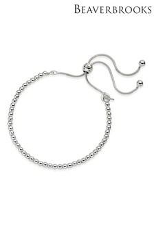 Beaverbrooks Silver Ball Bracelet