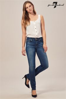 7 For All Mankind® Mid Rise Roxanne Indigo