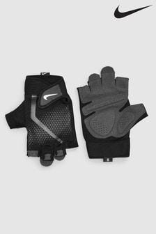 Czarno-białe rękawiczki Nike Xtreme