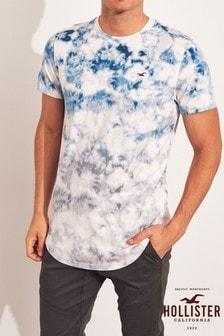 Hollister White Tie Dye T-Shirt