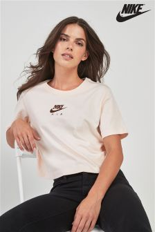 Nike Air Cream Crop Tee