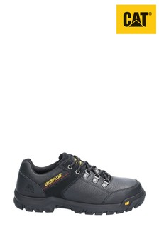 CAT Black Extension Lace-Up Safety Shoes