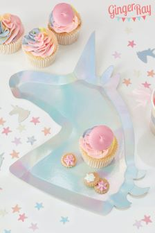 Ginger Ray Unicorn Paper Plates