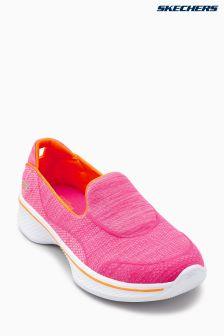 Baskets à enfiler Skechers® Go Walk 4 Speedy Sports roses