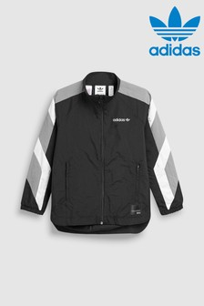 adidas Originals Black EQT Windbreaker Jacket